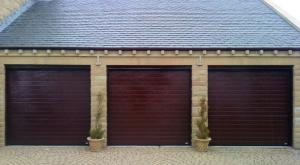 Triple Garage. Timber Garage Doors & Abacus Gate u0026 Garage Door Systems Ltd. |Supply. Fit. Repair ... pezcame.com
